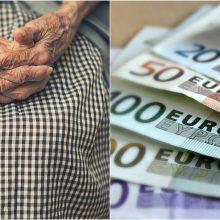 Vilniuje savivaldybės darbuotoju apsimetęs sukčius iš senolės išviliojo 5 tūkst. eurų