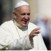 Popiežius: po koronaviruso pandemijos viskas bus kitaip