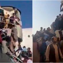 Čekijoje nusileido pirmas lėktuvas su iš Kabulo evakuotais asmenimis