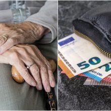 Policininku apsimetęs sukčius iš senjorės Vilniuje išviliojo 3,5 tūkst. eurų