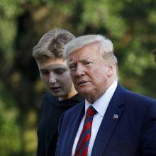 """D. Trumpas 2020-ųjų rinkimuose nori dalyvauti su """"išskirtiniu viceprezidentu"""""""