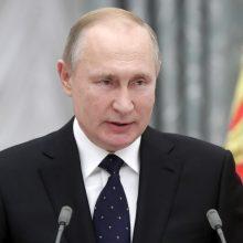 Maskvos teismas atsisakė nagrinėti ieškinį V. Putinui dėl piliečių teisių negynimo
