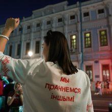 Po Baltarusijos prezidento rinkimų Minske prasidėjo susirėmimai