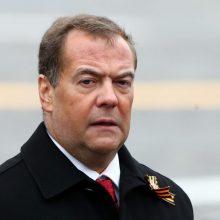 D. Medvedevas: Rusija gali pradėti tyrimą dėl amerikiečių IT bendrovių kišimosi į rinkimus