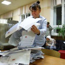Rusijos opozicijos atstovai ragina Europą nepripažinti Valstybės Dūmos rinkimų