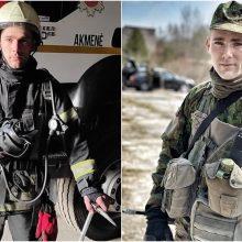 Ugniagesys ir karys savanoris Gintautas: kai matai žuvusius, suvoki, kokia trapi yra gyvybė