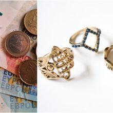 Vilniuje vagys nepasikuklino: išnešė ir pinigus, ir juvelyrinius dirbinius