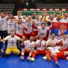 Serbijos futsal rinktinė – dėl trenerio ir lyderio konflikto nepavydėtinoje situacijoje