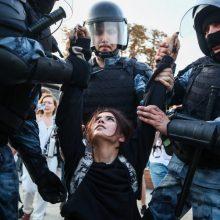 L. Linkevičius ragina Rusiją atsisakyti perteklinės jėgos prieš protestuotojus