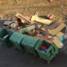 Didžiosios atliekos: surinkimo tvarka bus keičiama
