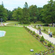 Palangos Birutės parke atgims kurorto istorija