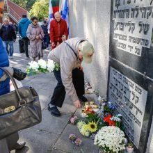 Klaipėdoje pagerbtos Holokausto aukos