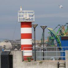 Ministras pripažįsta uosto svarbą valstybei