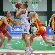 """""""Kibirkštis"""" ir """"Aistės-LSMU"""" žengė į Baltijos moterų krepšinio lygos pusfinalį"""