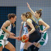 """Finalo repeticijoje – užtikrinta """"Kibirkšties-MRU"""" pergalė prieš """"Aisčių-LSMU"""" krepšininkes"""