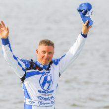 Po dramatiškos vandens formulių F2 kvalifikacijos E. Riabko finale startuos iš pirmos pozicijos