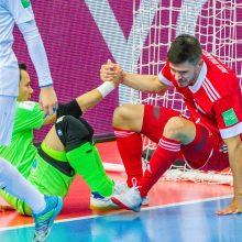 B grupėje – pergalingas Rusijos ir Uzbekistano rinktinių finišas