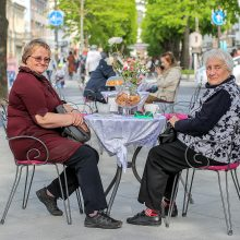 Kaunas atšaukė karantiną? Miesto centre – kaip skruzdėlyne