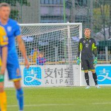 Lietuvos futbolo rinktinė nepasipriešino ukrainiečiams