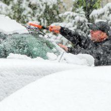 Netikėta: gegužės rytą į Lietuvą grįžo balta žiema