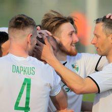 """""""Stumbro"""" sėkmingą žygį sustabdė kita Kauno komanda"""