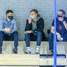 """""""Žalgirio"""" dubleriai žengė pirmą žingsnį į ketvirtfinalį"""