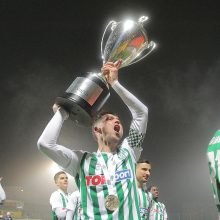 """Lietuvos futbolo A lyga: """"Žalgiriui"""" – auksas, """"Sūduvai"""" – metai be titulų"""