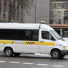 Maršrutiniams taksi įrengs stoteles senamiestyje