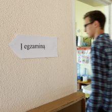 Ministerija: brandos egzaminai prasidės birželio pabaigoje
