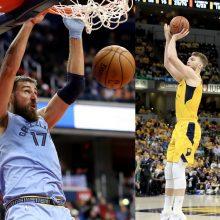 NBA mainų užkulisiai: J. Valančiūnas ir D. Sabonis per plauką netapo komandos draugai