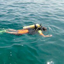 Vilniuje ežere nuskendo du jaunuoliai