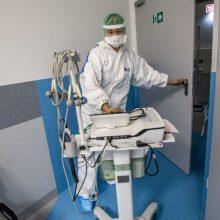 Santaros klinikos savaitgalį tikisi sergančiųjų koronavirusu antplūdžio