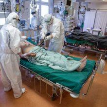 Vilniaus miesto klinikinėje ligoninėje didinamas COVID-19 pacientams skirtų lovų skaičius
