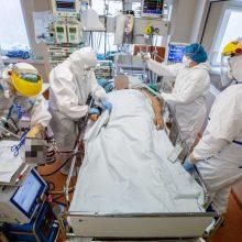 Ligoninėse gydoma per 1,6 tūkst. COVID-19 pacientų, 173 iš jų – reanimacijoje