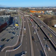 Paaiškėjo, kas už 31 mln. eurų rekonstruos sostinės Liepkalnio sankryžą