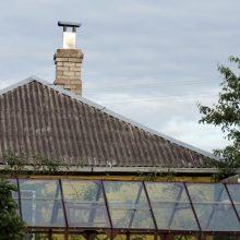 Paskutinė diena teikti paraiškas asbestiniams stogams keisti