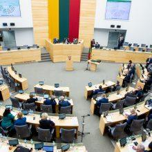Seimas pritarė Vyriausybės veiklos ataskaitai