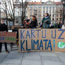 Vyriausybėje – priemonių mažinti klimato kaitą planas