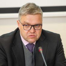 G. Nausėda padėkos V. Vasiliauskui už darbą Lietuvos banke