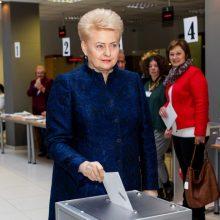 Šalies vadovė: referendumas dėl dvigubos pilietybės – tik pasikeitus aplinkybėms