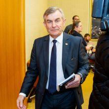 R. Žemaitaitis: su V. Pranckiečiu dėl jo pasitraukimo iš posto buvo susitarta
