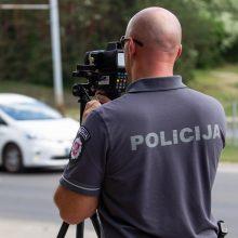 Savaitgalį Palangoje dirbs sustiprintos policijos pajėgos