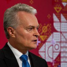 STT vadovas G. Nausėdai suteikė informaciją apie pasirinktą gydytoją R. Žaliūną