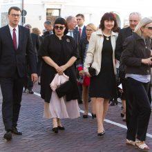 Prezidentūroje – iškilmingas svečių priėmimas: susirinko marga publika