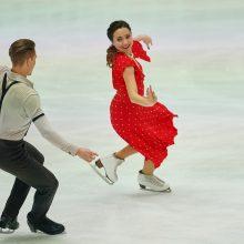 Sėkmė: Lietuvos šokėjų ant ledo pora įsiveržė į Europos čempionato 10-tuką