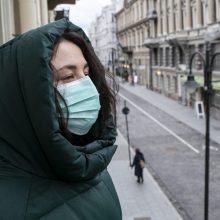 Mokslininkų prognozės: Lietuvoje reikėtų dar dviejų mėnesių karantino