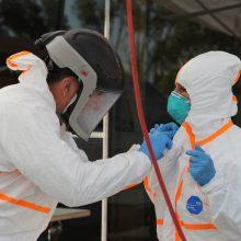 Ukmergėje – dar 10 koronavirusu užsikrėtusių medikų