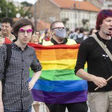 Apie 500 žmonių Vilniuje reikalavo užtikrinti LGBT bendruomenės teises