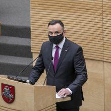 Iš I. Šimonytės susitikimo su A. Duda laukiama signalų dėl požiūrio į Lenkiją