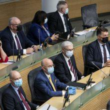 A. Veryga: Seimo nariams bus leidžiama susitrumpinti izoliacijos laiką